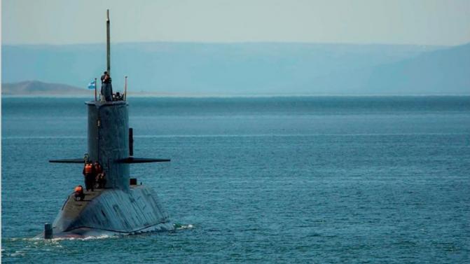 Melella denunció que un submarino nuclear de EE.UU. opera en el Atlántico Sur