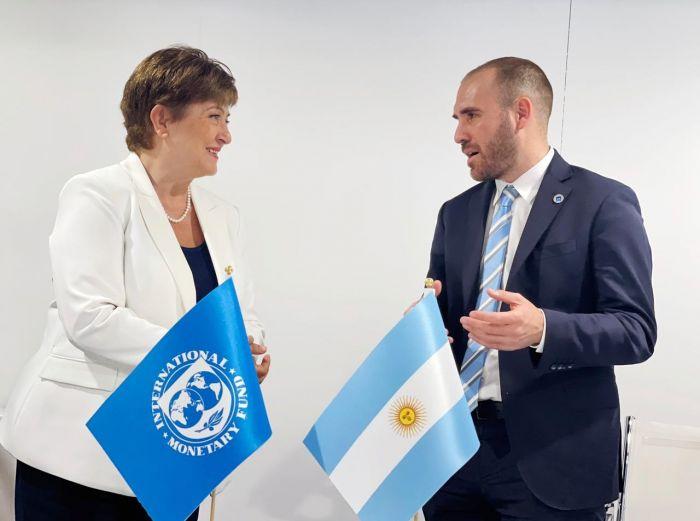 Alberto Fernández y Guzmán se reúnen con el FMI para presionar por la deuda
