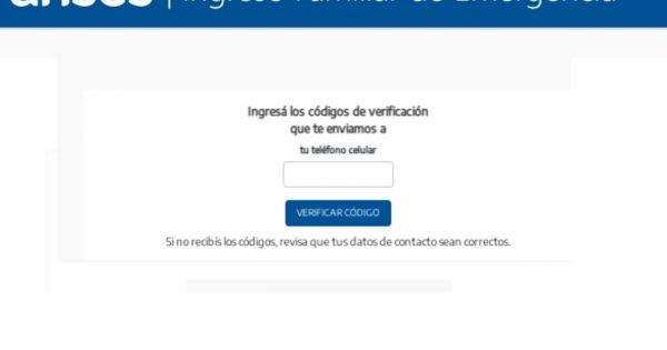 Nuevo IFE 4 2021: formulario e inscripción, ¿qué pasa si no me llegó el código de verificación? - El Cronista