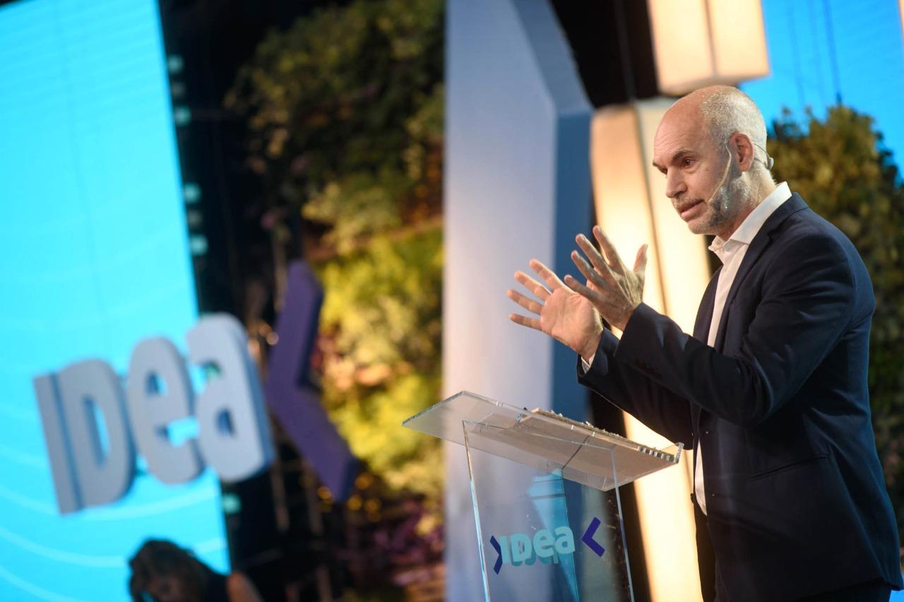 """IDEA 2021: para Rodríguez Larreta, """"gobernar es educar"""" - El Cronista"""