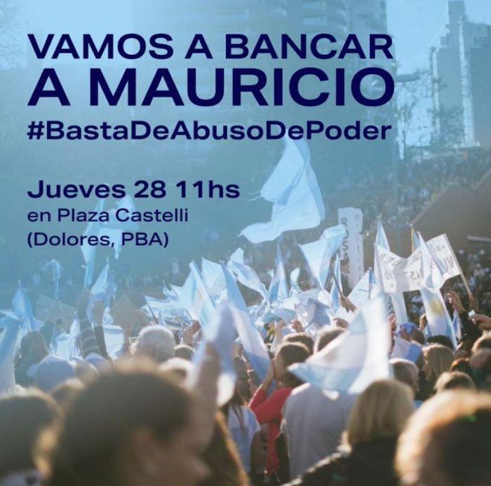El PRO marchará en apoyo a Macri cuando se presente a declarar