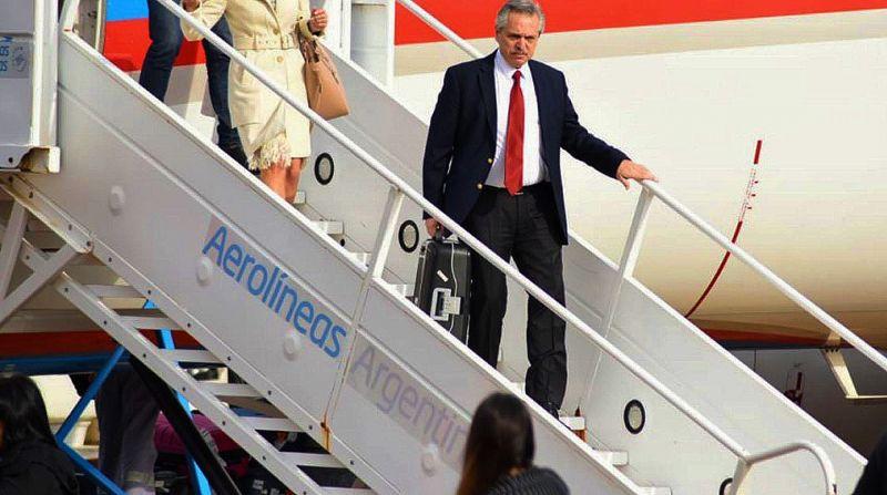 Alberto viaja a Europa para reforzar una promesa del G20 y tratar de ver a Biden