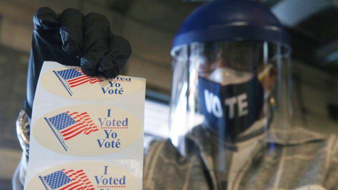 Resultado de imagen para kits de seguridad para votar EEUU